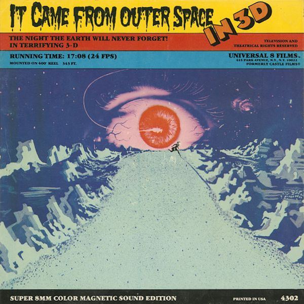 It came from outer space in 3d super8warehouse for The thing that came from outer space