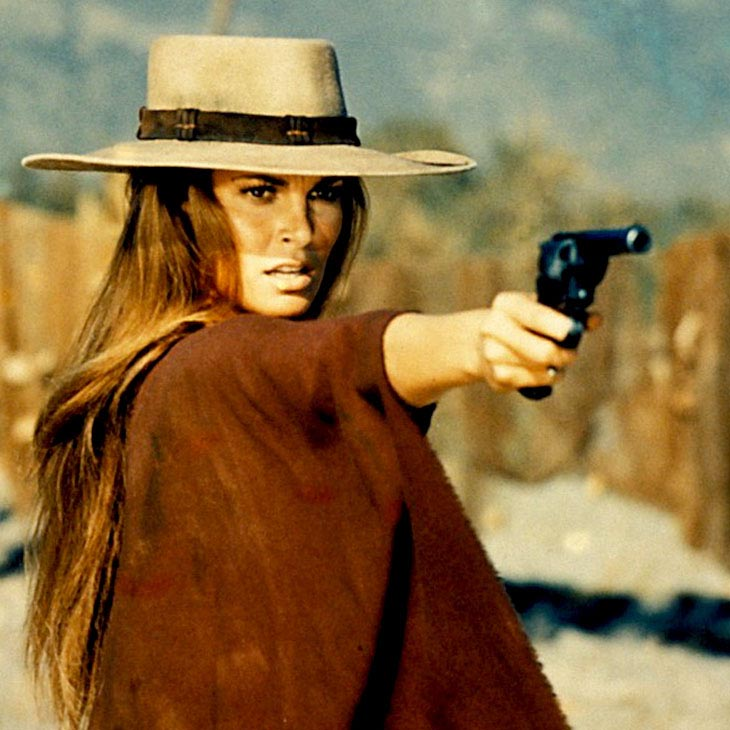 Raquel Welch In Rare Scope Feature, With