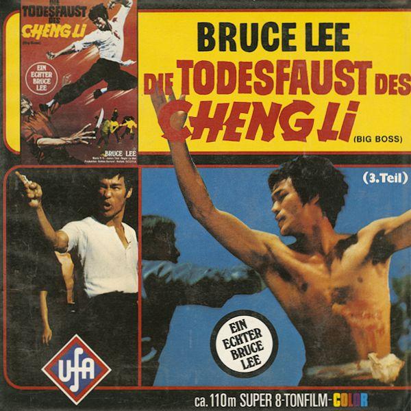 "Bruce Lee /""The Big Boss/"" Lo Wei Original Hong Kong 1971 Version POSTER"