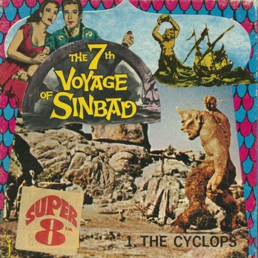 7th Voyage of Sinbad - The Cyclops, super 8mm