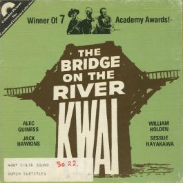 Bridge on the River Kwai, super 8mm