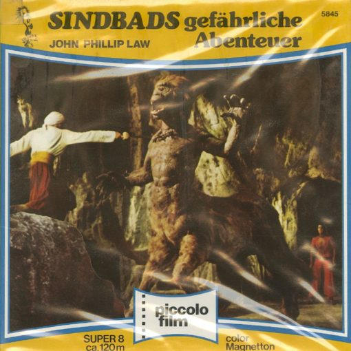 The Golden Voyage of Sinbad, super 8mm