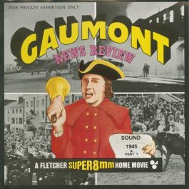 Gaumont News Review 1945 super 8